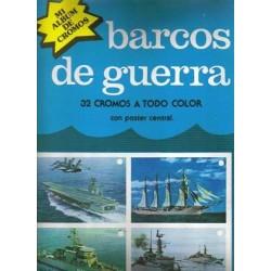 Barcos de guerra.