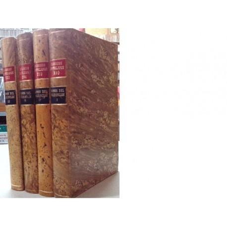 Luces de Bohemia. Tirano Banderas. La Guerra Carlista (2 vols). 4 vols.