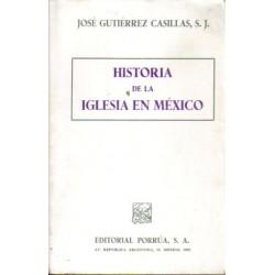 Historia de la Iglesia en México.