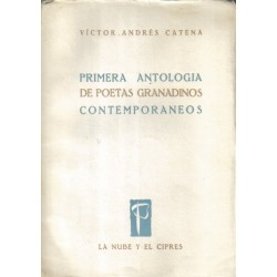 Primera antología de poetas granadinos contemporáneos