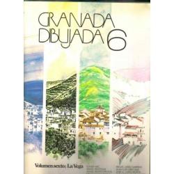 Granada dibujada 6: La vega y pueblos del cinturón.