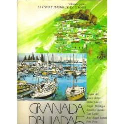 Granada dibujada 5: La costa y pueblos de la cornisa.