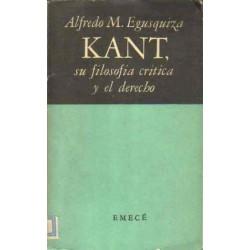 Kant, su filosofía crítica y el derecho