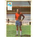 14 fotos de futbolistas del Granada del 1971-72 en primera división + 1 foto de equipo del Real Zaragoza.