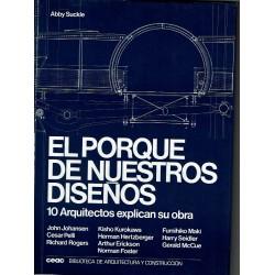 El porque de nuestros diseños. 10 Arquitectos explican su obra.