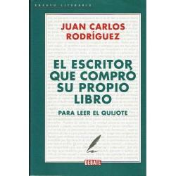 El escritor que compró su propio libro para leer el Quijote.