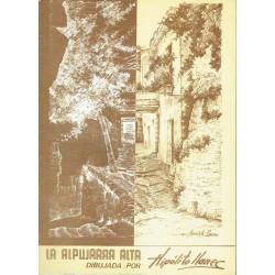 La Alpujarra alta dibujada por Hipólito Llanec.