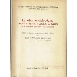 La obra enciclopédica Yesode Ha-Tebuna U-Migdal Ha-Emuná.