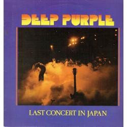 Last concert in Japan.
