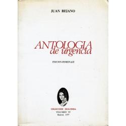 Antología de urgencia.