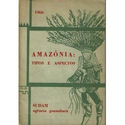 Amazônia: tipos e aspectos.