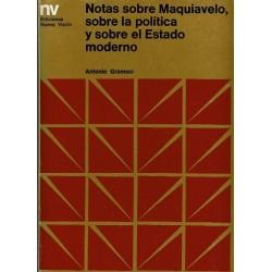 Notas sobre Maquiavelo, sobre la política y sobre el Estado moderno.