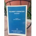 Falange y literatura. Antología.