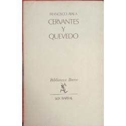 Cervantes y Quevedo.