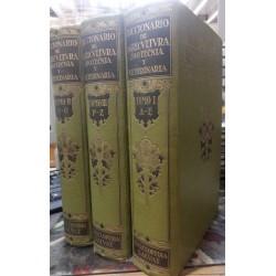 Diccionario de agricultura, zootecnia y veterinaria. 3 vols.