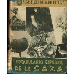 Vocabulario español de la caza.