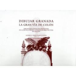 Dibujar Granada. La Gran Vía de Colón.
