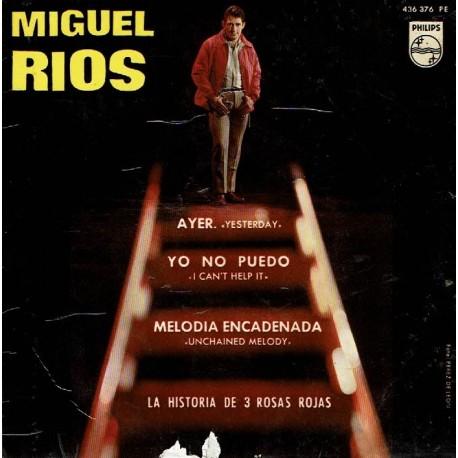 Ayer (Yesterday). Yo no puedo (I can't help it). Melodía encadenada (Unchained melody). La historia de 3 rosas rojas.