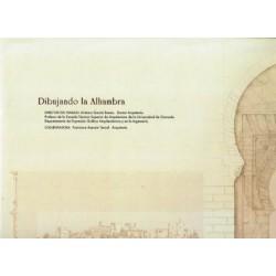 Dibujando la Alhambra.