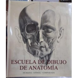Escuela de dibujo de anatomía. Humana, animal, comparada.