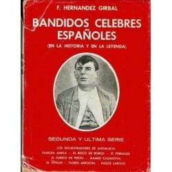 Bandidos célebres españoles (en la historia y en la leyenda). Segunda parte.