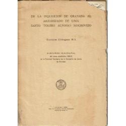 De la Inquisición de Granada al Arzobispado de Lima Santo Toribio Alfonso Mogrovejo.