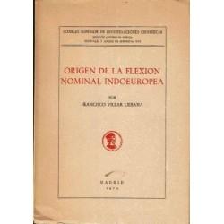 Origen de la flexión nominal indoeuropea.