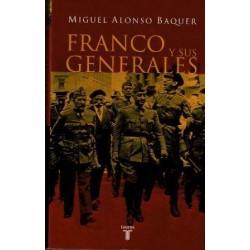 Franco y sus generales.