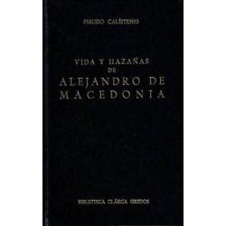 Vida y hazañas de Alejandro de Macedonia.