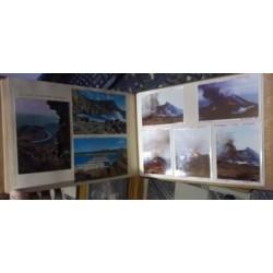 Álbum fotográfico familiar viaje a Canarias en 1968.