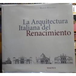 La arquitectura Italiana del Renacimiento.