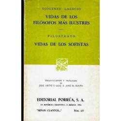 Vidas de los filósofos más ilustres. Vidas de los sofistas. Filostrato.