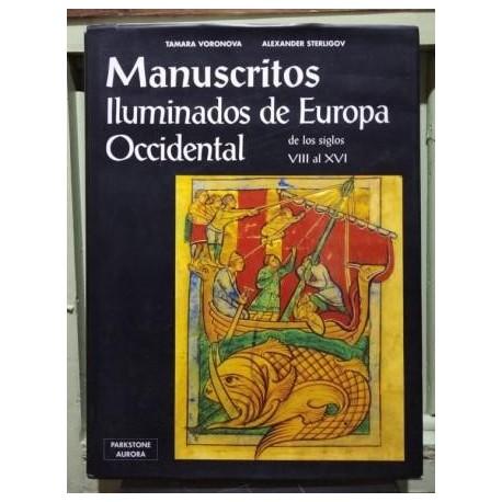 Manuscritos iluminados de Europa Occidental de los siglos VIII al XVI..