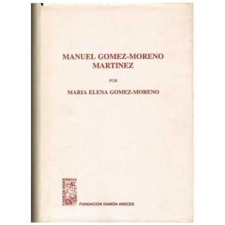 Mnuel Gómez-Moreno Martínez.