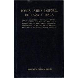 Poesía latina pastorial, de caza y pesca.