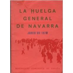 La huelga general de Navarra. Junio de 1973.
