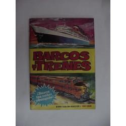 Barcos y trenes