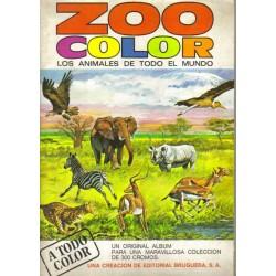 Zoo color. Los animales de todo el mundo.