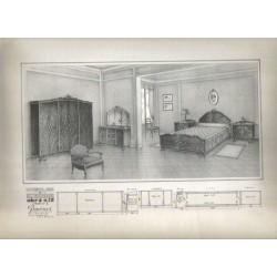 Muebles e interiores. Obra nº 12.