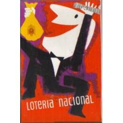Serie de 12 postales de la Loteria Nacional.